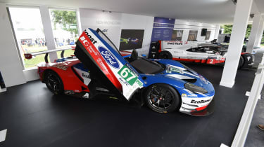 Ford GT LeMans car - Goodwood