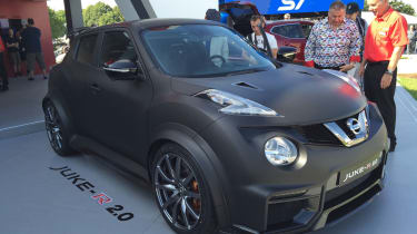 Nissan Juke-R Goodwood - front