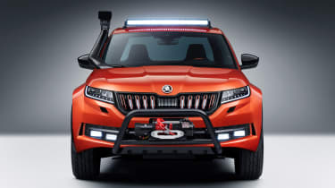 Skoda Mountiaq - full front