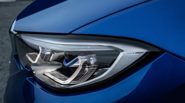 BMW 3 Series - blue front detail