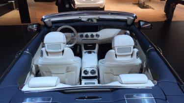 Mercedes-AMG S 65 Cabriolet show interior