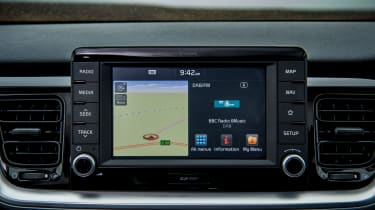 Kia Stonic UK review - infotainment