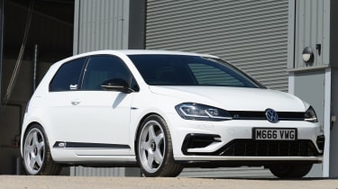 Mountune VW Golf R - front static