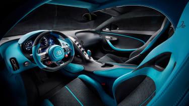 Bugatti Divo - dash