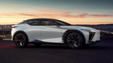 Lexus LF-Z Electrified concept - side static