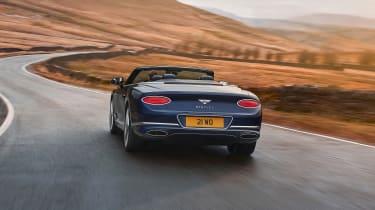 Bentley Continental GT Speed convertible - rear