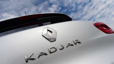 MG GS vs rivals - Renault Kadjar badge