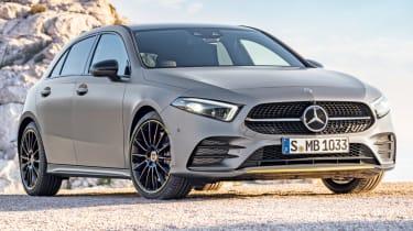 Mercedes A-Class front quarter