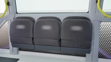 Toyota e-Palette - side seats