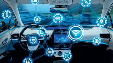 In-car data –header
