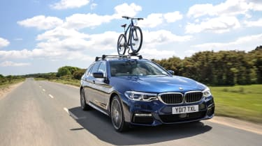 BMW 5 Series Touring - bike