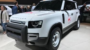 Land Rover Defender - Frankfurt front/side