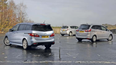 New Mazda 5 vs. rivals