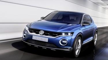 VW T-ROC concept 2014 front