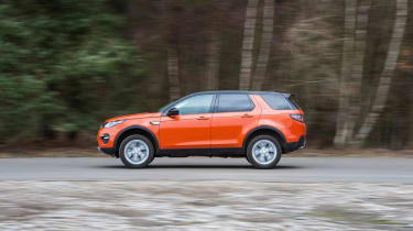 Used Land Rover Discovery Sport - side