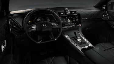 DS 7 Crossback - interior black
