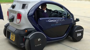 Oxford's Mobile Robotics Group self-driving cars