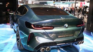BMW M8 Gran Coupe - Geneva full rear