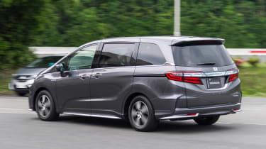 Honda i-MMD hybrid prototype - rear