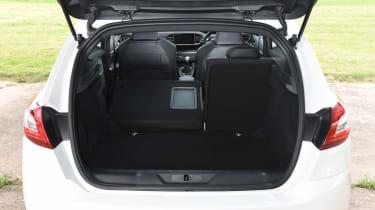 Peugeot 308 GTi - boot