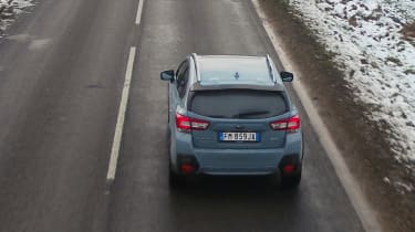 Subaru XV - rear action