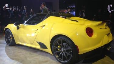 Alfa Romeo 4C Spider Detroit Motor Show
