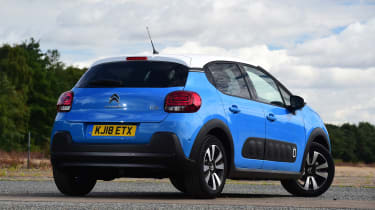 Citroen C3 - rear static