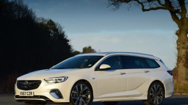 Vauxhall Insignia Sports Tourer GSi - front static