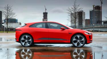 Jaguar I-Pace prototype 2017 - side