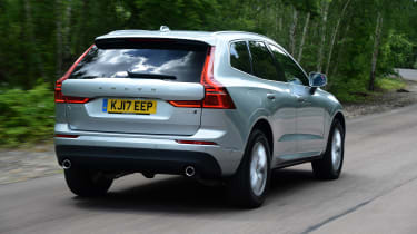 Volvo XC60 - rear action