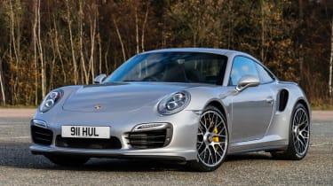 Porsche 911 Turbo S - front