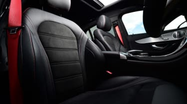 Mercedes-AMG GLC 43 Coupe - front seats