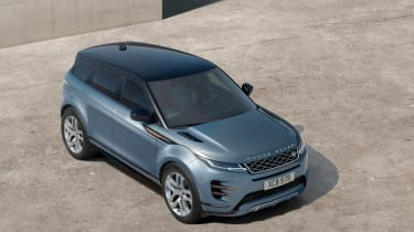 New 2019 Range Rover Evoque high