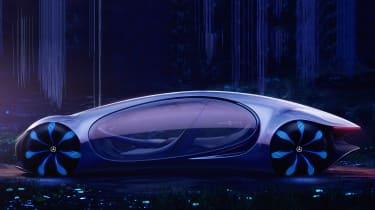 Mercedes Vision AVTR concept - side static