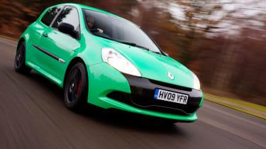 Renaultsport Clio cornering lights