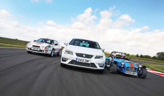 SEAT Leon SC long-term track day