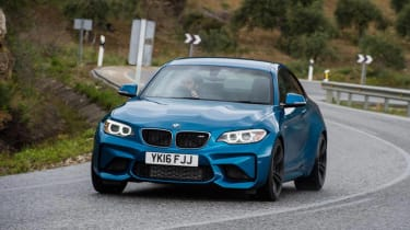 BMW M2 - front cornering