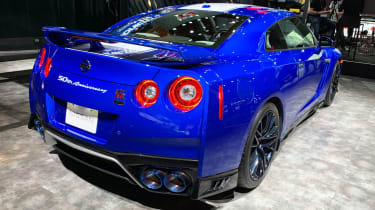 Nissan GT-R 50th Anniversary Edition - New York rear