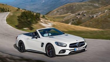 Mercedes SL facelift 2015 front