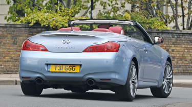 infiniti g37 convertible: third report - pictures | auto