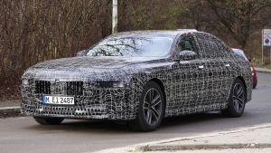 BMW 7 Series - spyshot 8
