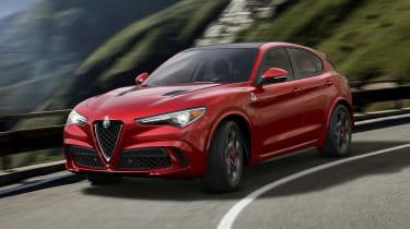 Alfa Romeo Stelvio - action front