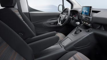 Vauxhall Combo Life - dash