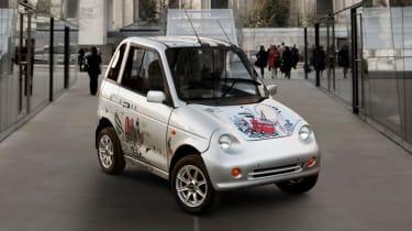 Top 10 worst cars - G-Wiz London front quarter 2
