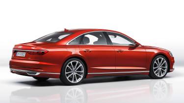 New Audi A8 - rear quarter