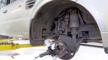Replacing front hub bearing - 3