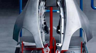 Alpine A120 bodywork teaser