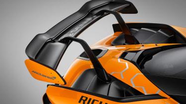 McLaren Senna GTR - spolier