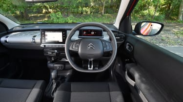 Citroen C4 Cactus review - interior