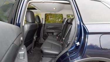 Used Mitsubishi Outlander - rear seats